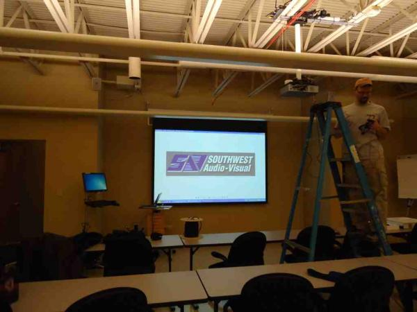 Classroom Av Design ~ Educational classrooms southwest audio visual