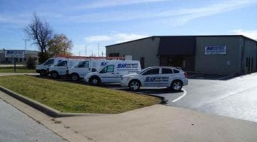 Southwest Audio Visual Service Vans