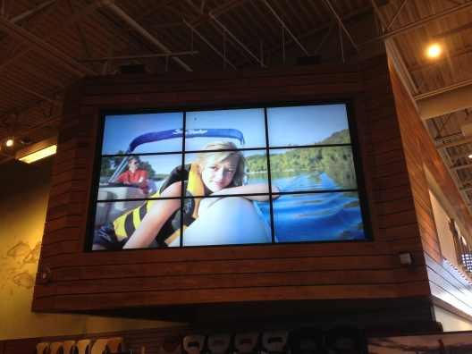 Tracker Marine Video Wall
