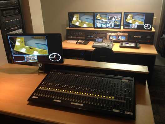 broadcast tv control room