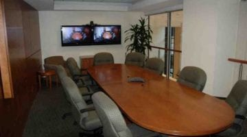 long conference table