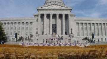 Missouri Governors Inauguration Set up