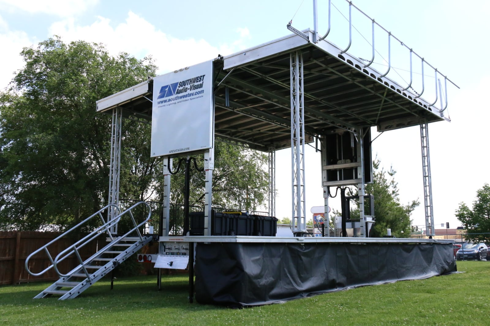 Apex 2420 Mobile Stage - Southwest Audio-Visual